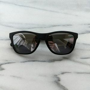 Accessories - Kimoa matte black reflective sunglasses